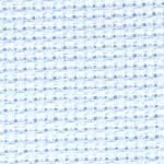 Click for more details of 16 count Aida - ice blue (fabric) by Zweigart Fabrics