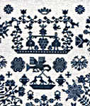 Click for more details of 1749 Sampler (cross-stitch) by Permin of Copenhagen