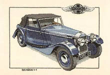 Click for more details of 1939 Morgan 4-4 (cross stitch) by Dave Shaw