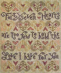 Click for more details of 47 Hearts (cross-stitch pattern) by Silver Creek Samplers