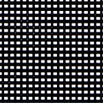 Click for more details of 7 Mesh Plastic Canvas Black (fabric) by Darice