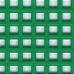 Click for more details of 7 Mesh Plastic Canvas Green (fabric) by Darice