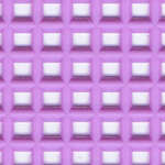 Click for more details of 7 Mesh Plastic Canvas Lavender (fabric) by Darice