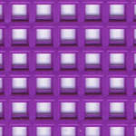 Click for more details of 7 Mesh Plastic Canvas Purple (fabric) by Darice
