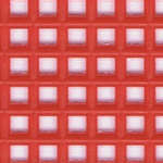 Click for more details of 7 Mesh Plastic Canvas Red (fabric) by Darice