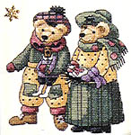 Click for more details of A Bear's World (cross-stitch) by Dimensions