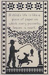 Click for more details of A Child's World (cross-stitch pattern) by Canterbury Designs