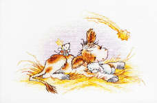 Click for more details of A Christmas Story (cross-stitch kit) by Luca - S
