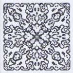 Click for more details of A Ghostly Mandala (cross stitch) by Ink Circles