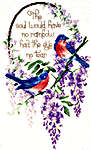 Click for more details of A Heavenly Thought (cross-stitch pattern) by Sam Hawkins