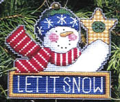 Click for more details of A  Merry  Noel (cross-stitch pattern) by Dimensions