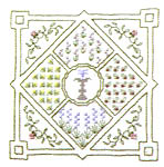 Click for more details of A Secret Garden (hardanger kit) by Patricia Bage
