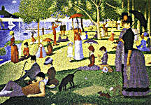 Click for more details of A Sunday Afternoon on the Island of La Grande Jatte by Georges Seurat (cross-stitch pattern) by The Fine Arts Heritage Society