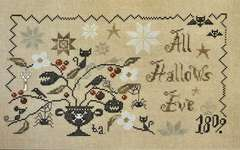 Click for more details of A Wicked Plant (All Hallows Eve) (cross stitch) by Barbara Ana Designs