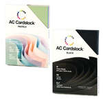 Click for more details of AC Cardstock 5in x 7in Heavyweight, Black (paper) by American Crafts