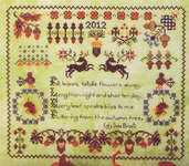 Click for more details of Acorn Forest (cross-stitch pattern) by Rosewood Manor