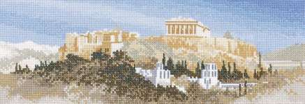 Click for more details of Acropolis (cross stitch) by John Clayton