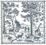 Click for more details of Adam and Eve Sampler (cross stitch) by Permin of Copenhagen
