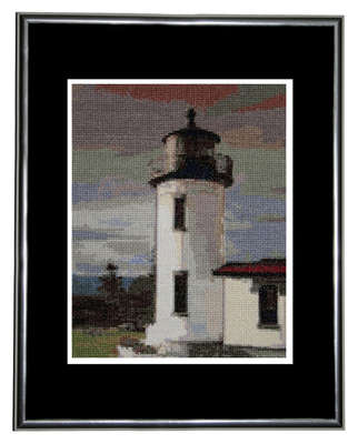 Click for more details of Admiralty Head Lighthouse  (cross stitch) by Mary Gaines