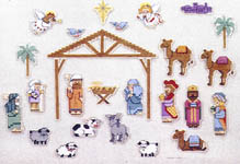 Click for more details of Advent - A Day at a Time (cross stitch) by Imaginating