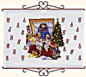 Click for more details of Advent Calendar - Christmas Eve (cross-stitch) by Eva Rosenstand