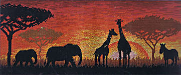 Click for more details of African Horizon (cross stitch) by maia