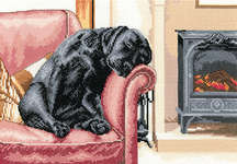 Click for more details of After the Walk (cross stitch) by Sue Ryder