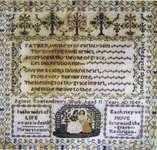 Click for more details of Agness Rowlandson (cross-stitch pattern) by Carriage House Samplings