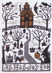 Click for more details of All Hallows Eve (cross stitch) by The Prairie Schooler