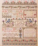 Click for more details of All Heart's Sake Sampler (cross stitch) by Stoney Creek