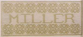 Click for more details of Alphabets for Swedish Weaving and Huck Embroidery (swedish weaving) by Swedish Weave Designs