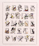 Click for more details of Alphabirds - and Alphabet Sampler (cross-stitch) by Crossed Wing Collection