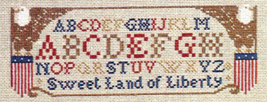 Click for more details of American Primitive (cross-stitch pattern) by The Prairie Schooler