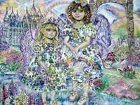 Click for more details of An angel of the purple (limited edition print) by Yumi Sugai