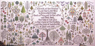 Click for more details of And a Forest Grew (cross-stitch pattern) by Rosewood Manor