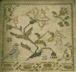 Click for more details of And Blossoms As The Rose (cross stitch) by Blackbird Designs