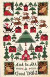Click for more details of And To All A Good Night (cross stitch) by The Prairie Schooler