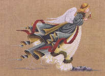 Click for more details of Angel of Light (cross stitch) by Lavender & Lace