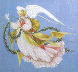 Click for more details of Angel of Summer (cross-stitch pattern) by Lavender & Lace