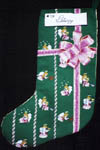 Click for more details of Angel Stocking (cross-stitch) by X's & Oh's