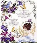 Birth Samplers : Cross Stitch Kits by X Stitch Crafts, Cross