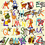 Click for more details of Animal Alphabet (cross stitch) by Bothy Threads