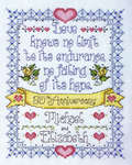 Click for more details of Anniversary (cross-stitch kit) by Design Works