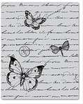 Click for more details of Antique Background Unmounted Cling Rubber Stamp (stamps) by Hero Arts