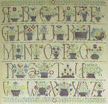 Click for more details of Antique Baskets (cross-stitch pattern) by Rosewood Manor