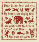 Click for more details of Antique Beasts and Birds (cross stitch) by Elizabeth Foster