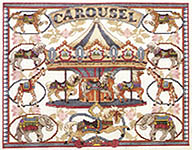 Click for more details of Antique Carousel (cross-stitch pattern) by Dimensions