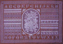 Click for more details of Antique Lace (cross-stitch pattern) by Northern Expressions Needlework