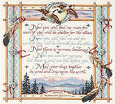 Click for more details of Apache Wedding Blessing (cross-stitch kit) by Janlynn