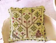Click for more details of Apple Orchard (cross stitch) by Blackbird Designs